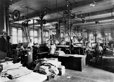 Government Printing Office, Brisbane, 1912. (John Oxley Library)