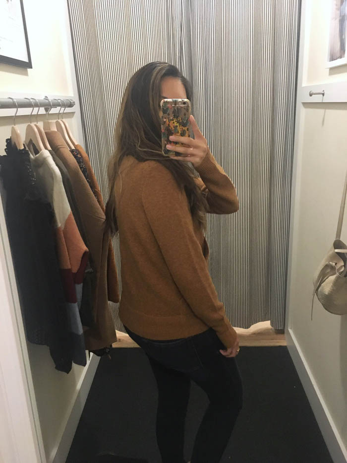 cozy brown pullover sweater
