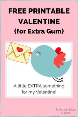 A little Extra (gum) Valentine