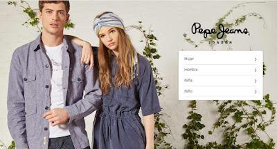 ropa de la marca Pepe Jeans en oferta