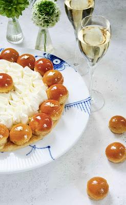 Cédric Grolet , St Honoré , crème chantilly , choux caramel