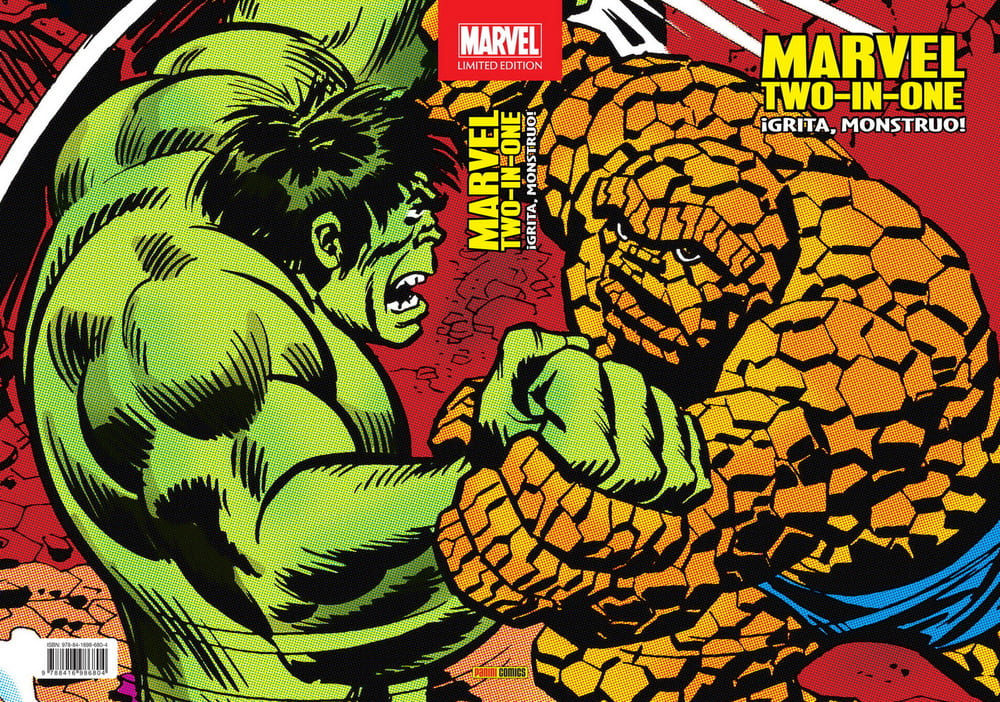 Marvel Limited Edition. Marvel Two-In-One: ¡Grita, Monstruo!