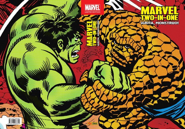 Marvel Limited Edition. Marvel Two-In-One: ¡Grita, Monstruo! Reseña