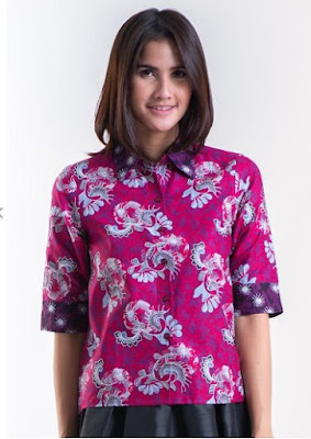 Model Baju Batik Solo Terbaru