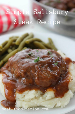 Simple Salisbury Steak Recipe