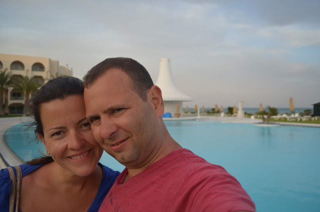 Priscila Gutierrez e Christian Gutierrez na Tunísia