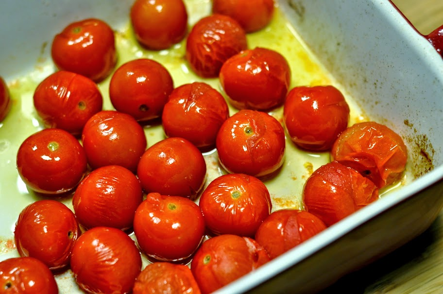 Roasted Cherry Tomatoes | Taste As You Go
