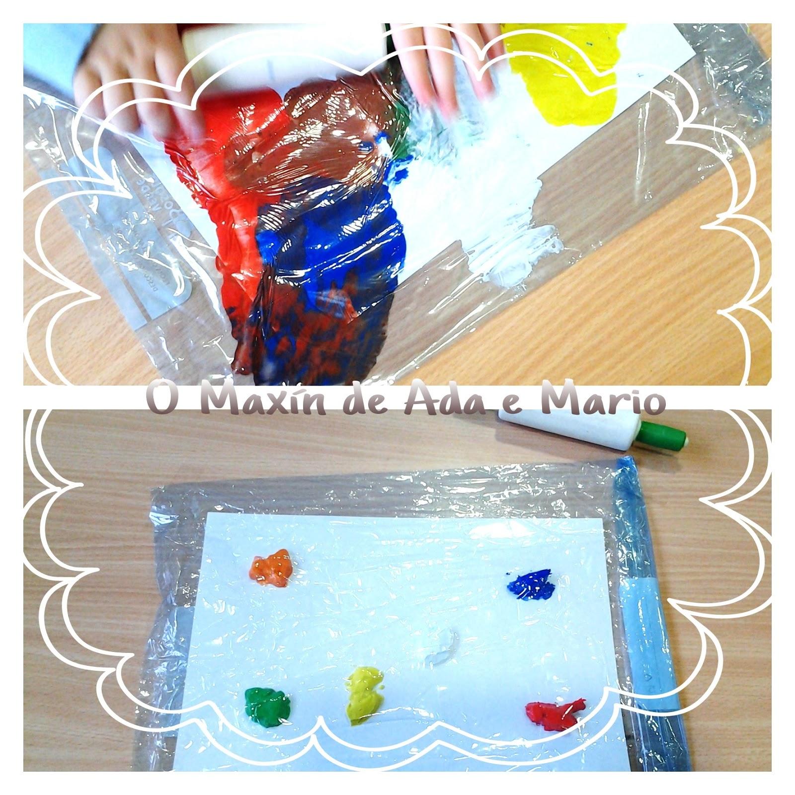 Resultado de imagen de pintar dentro de una bolsa