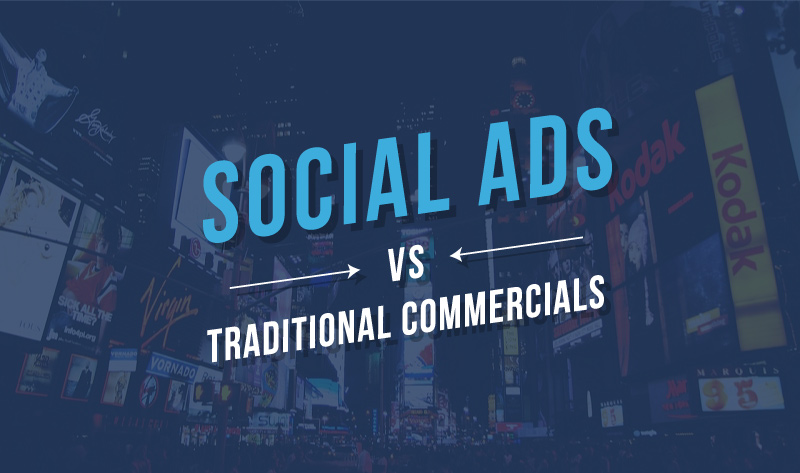 4 Reasons Social Media Ads Beat Traditional Media - #infographic