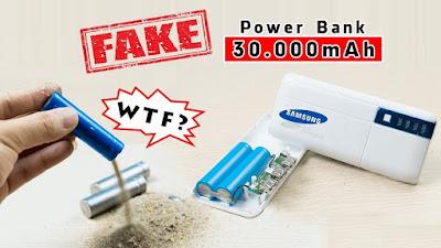 Power Bank หลอกความจุชาจแปปเดียวหมด