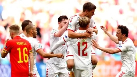Ουαλία-Δανία (0-4): Στους «8» η εκπληκτική Δανία, με Ντόλμπεργκ πρωταγωνιστή