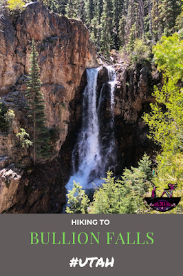 Hiking to Bouillon Falls, Utah, Waterfalls in Utah, Best waterfalls in utah