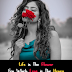 Life is The Flower - Love Quotes Short