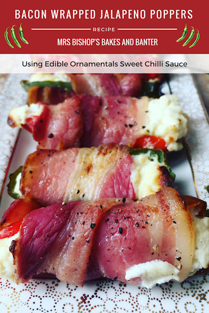 Bacon Wrapped Jalapeno Poppers Recipe by Mrs Bishop