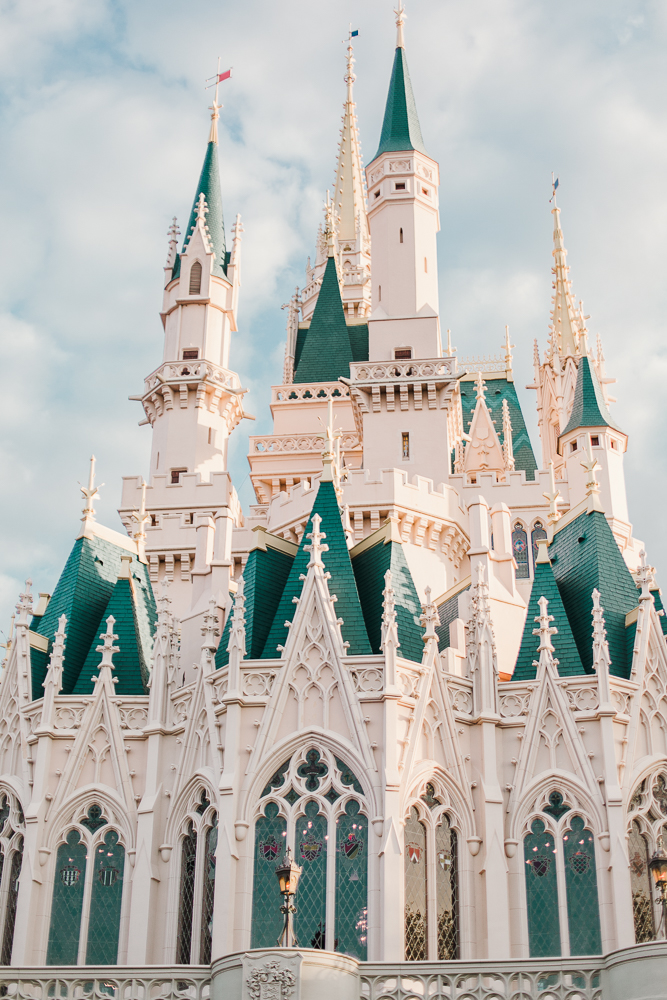 magic kingdom photography, old Disney castle, cinderella's castle, magic kingdom, Disney world photos, Disney world photographer, nc photographer