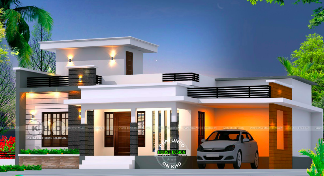 Myhouseplanshop Lovely Single Storey House Design Concept By Kerala Home Design