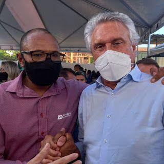 O Governador de Goiás, Ronaldo Caiado vai inaugurar nova obra em Águas Lindas de Goiás. Confira.