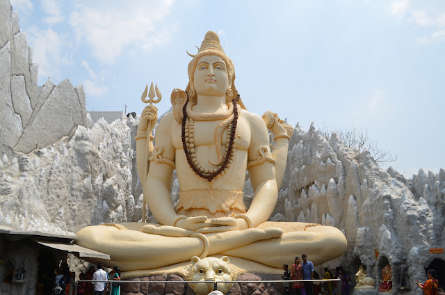 Shiva Statue, old Airport Road, Bangalore