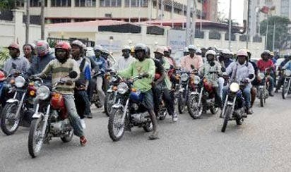 Fire as Benue state government band the use of motorcycle in Sankera axis of the state. #hypebenue