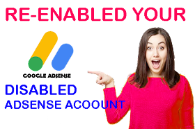 How to Re-Enable Disabled AdSense Account