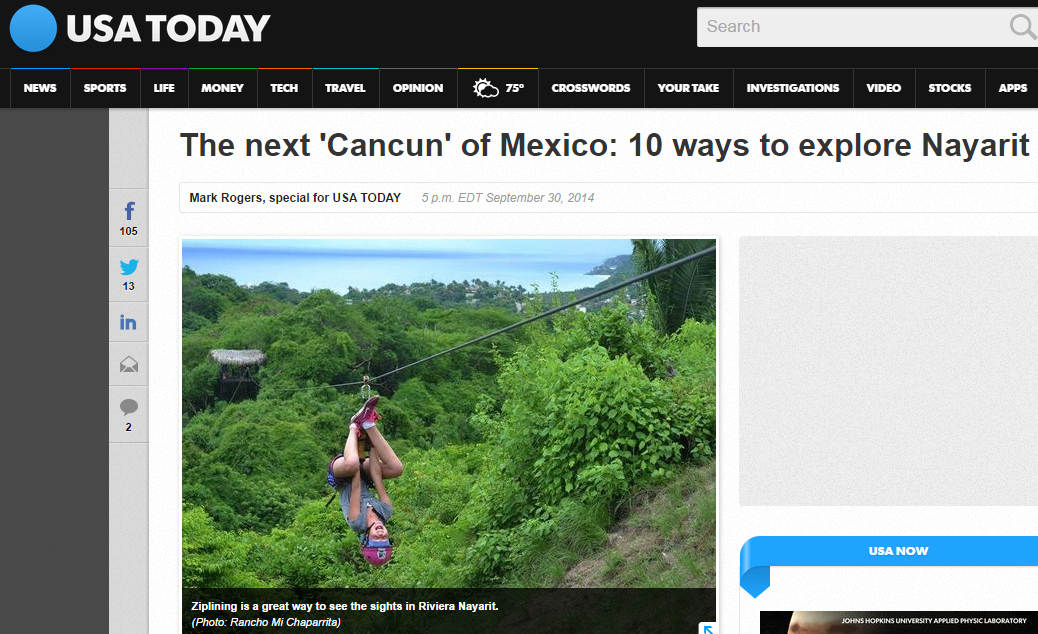 According To USA Today, The Riviera Nayarit Is Poised To Become