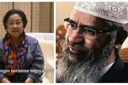 """Video """"Minta Tolong"""" Megawati Muncul Gara-gara Zakir Naik? Ini Kata Nasdem"""