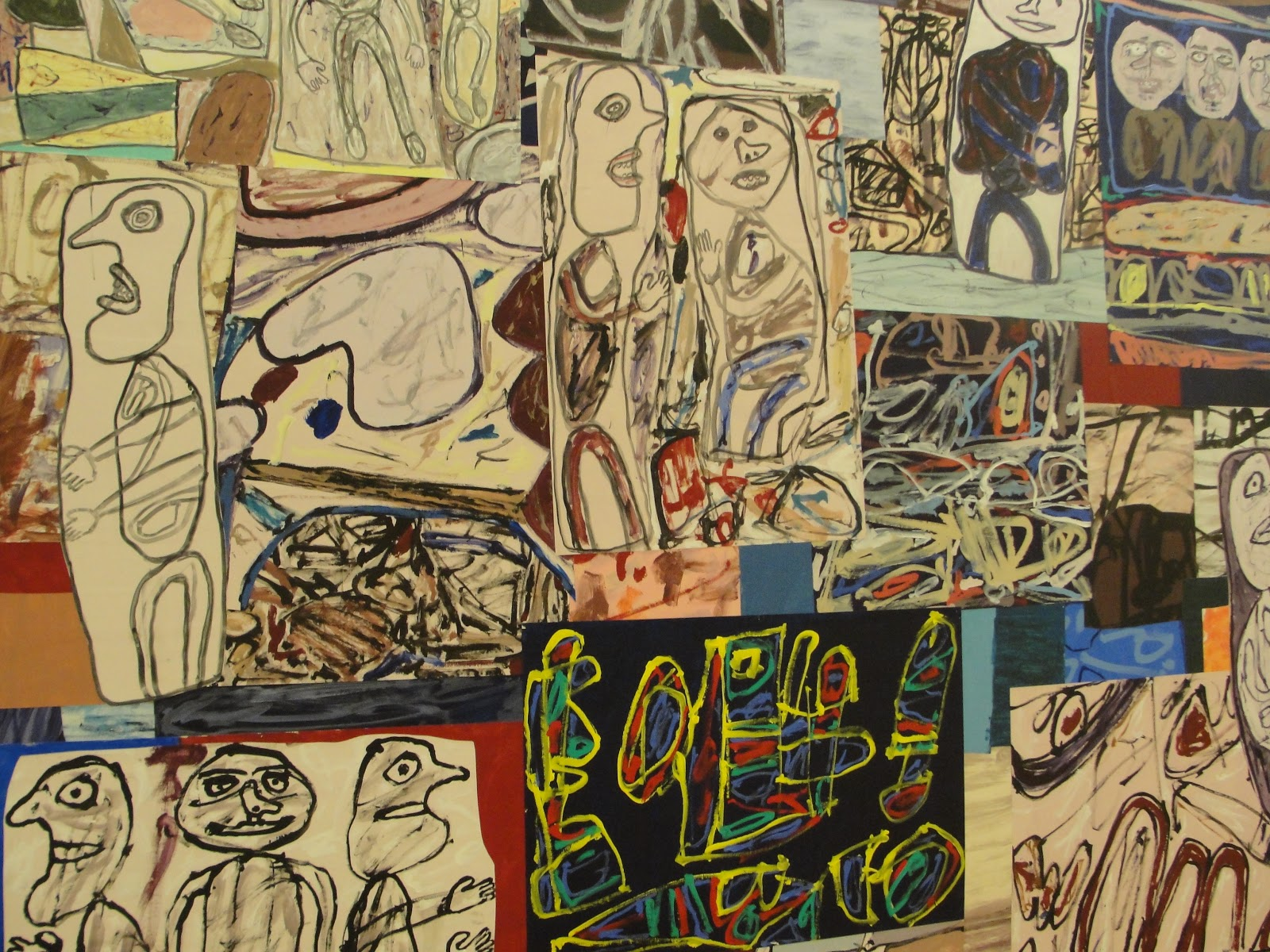 Chris Gregson Art Blog Jean Dubuffet Painting