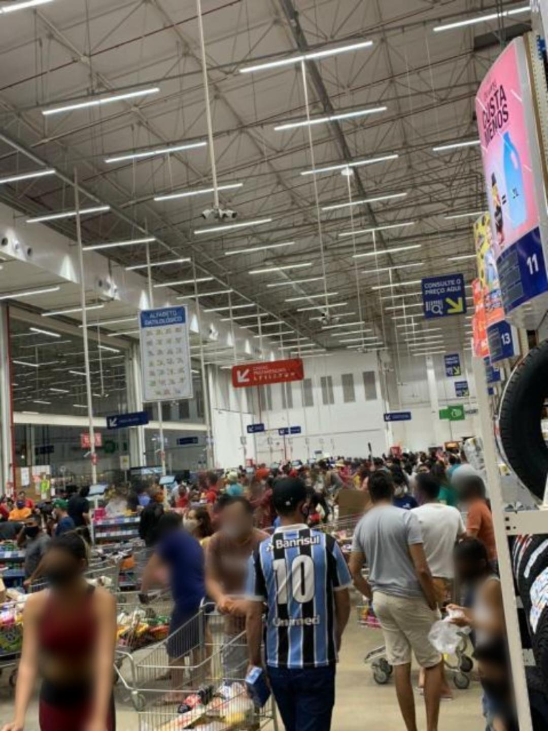 Sem fiscalização as aglomerações aumentam no período da Semana Santa na Capital do Minério