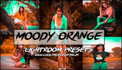 Moody Orange Presets