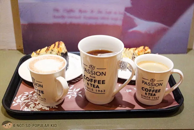 Drinks of Coffee Bean Philippines