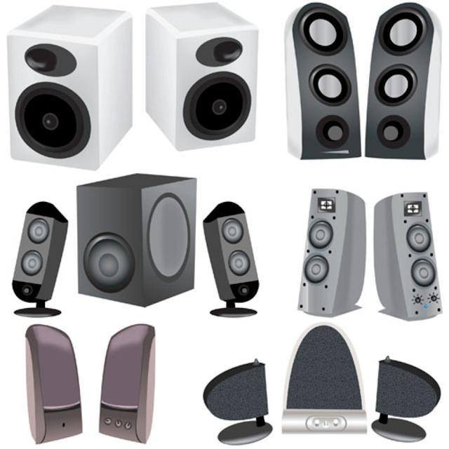 Portable Computer Speakers