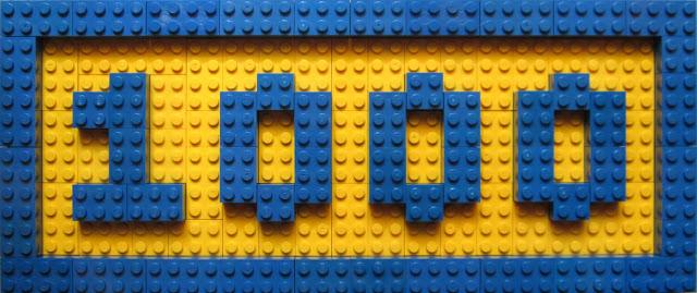 MOC LEGO Post 1000