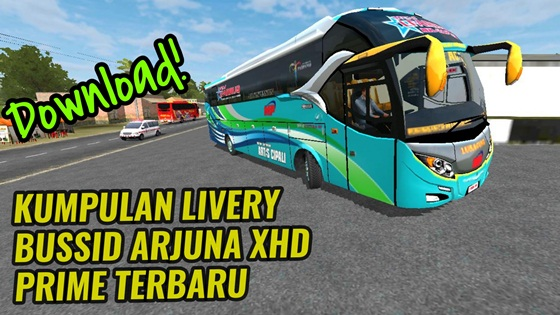 Download Livery Arjuna XHD Prime Bussid
