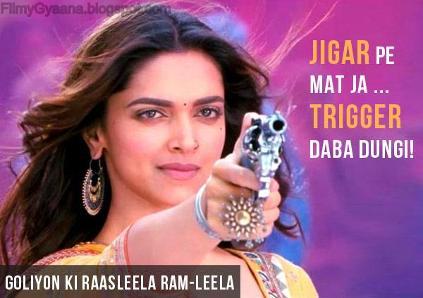 Deepika Padukone in Goliyon Ki Raasleela Ram-Leela