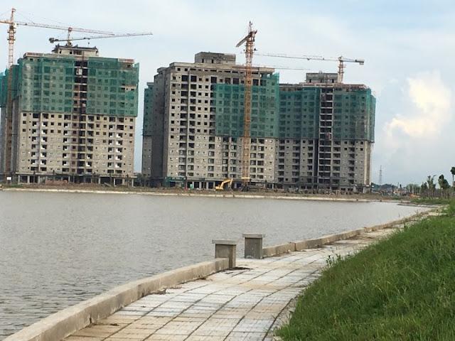 Tiến độ xây dựng chung cư HH02 Thanh Hà
