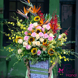 Send flowers to Hanoi is very easy and convenient