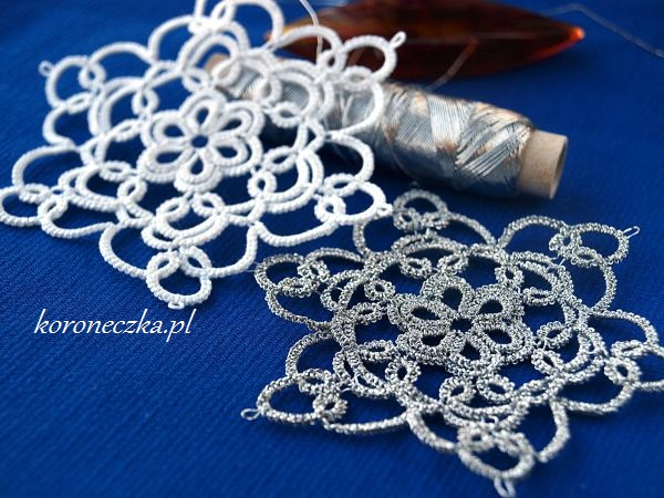 Frywolitki - tatting