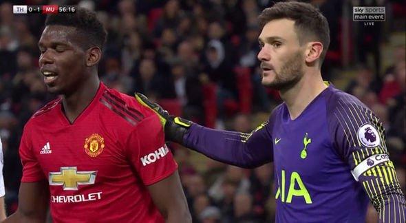 Hugo Lloris warns Tottenham teammates about Paul Pogba ahead of Manchester United fixture