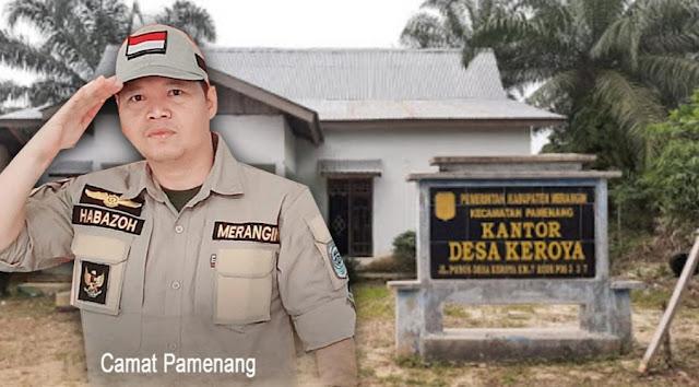 Kadus Desa Keroya Tak Tersentuh, Pihak Kecamatan Pamenang Sudah Turun Ke Desa Tapi Sekedar Hadiri Musdes