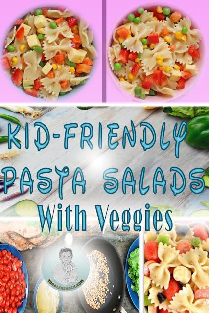 vegetarian pasta recipe; Spinach Mushroom Pasta; Pasta salad with veggies; Kid friendly vegetarian pasta recipe; healthy toddler snacks; vegetarian pasta salad; vegetarian pasta salad with beans; mixed bean pasta recipe;