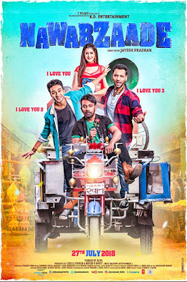 Nawabzaade 2018 Hindi 720p WEB-DL 800Mb x264