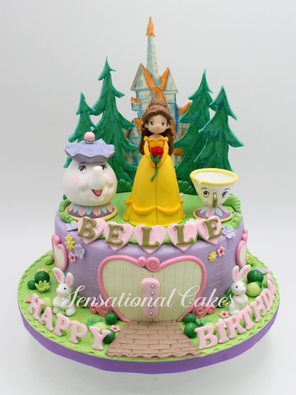 The Sensational Cakes And Heres a Beauty and the Beast Cake For