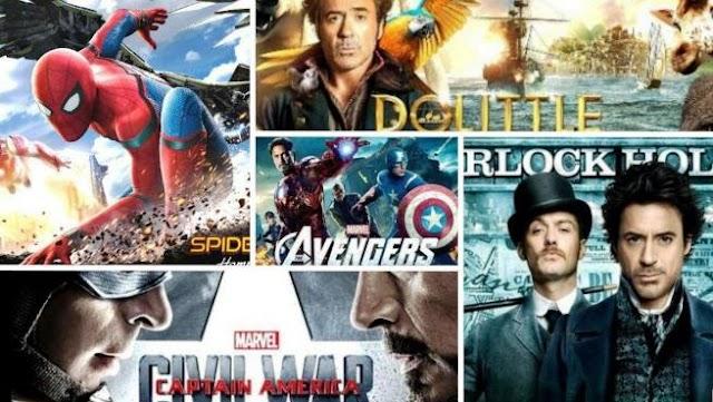Robert Downey Jr. 14 all time best movies list