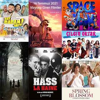 Vizyona Giren Filmler 16 Temmuz 2021