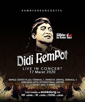 Konser Didi Kempot Soekarno Hatta International Airport