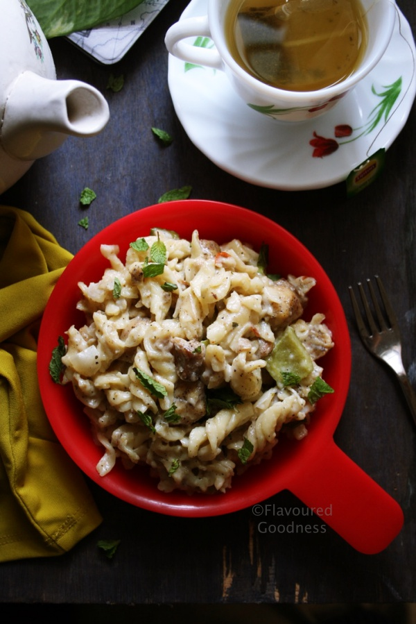 Creamy Basa Fish Pasta Recipe