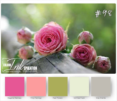 Colour Inkspiration Challenge #98   #CI98