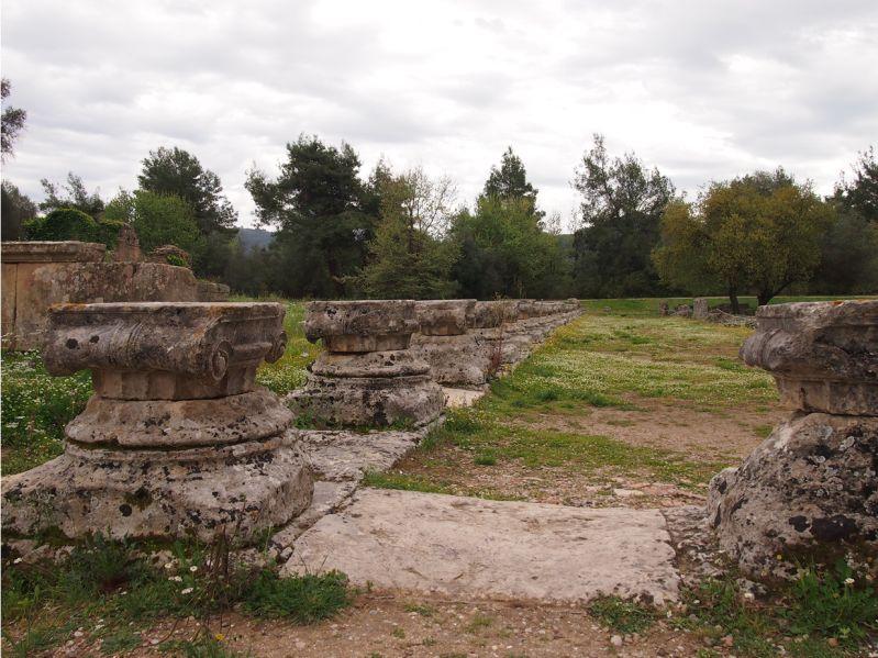Ausgrabungen antikes Olympia