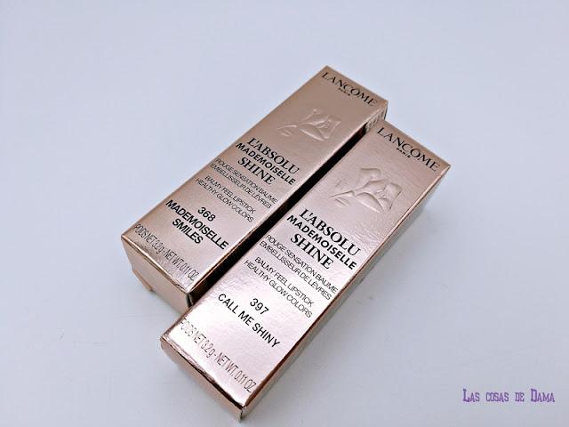 L'Absolu Mademoiselle Shine Lancôme lipstick makeup maquillaje labial labios beauty belleza