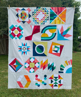 Summer Sampler 2019 from Anja Quilts